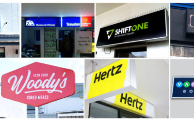 Light Boxes and Illuminated Signs
